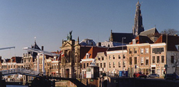 First home in Holland on the Spaarne River in Haarlem. http://www.enjoy-europe.com/01-0117.jpg