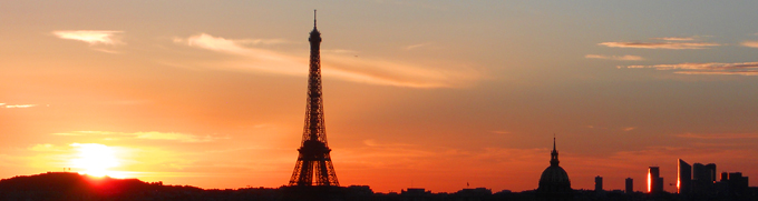 Paris Skyline and Eiffel Tower. Photo by Stephanie. http://www.enjoy-europe.com/Paris-DSCN1806.jpg
