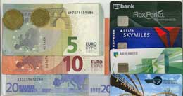 Cash and cards to pay your way in Europe