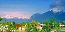The Austrian Alps from Hall-In-Tyrol, just east of Innsbruck. http://www.enjoy-europe.com/home/12-1204-3.jpg