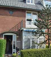 The front view of B & B Paula, Haarlem, The Netherlands. http://www.enjoy-europe.com/home/BBPaula2-s-3.jpg