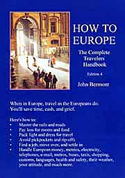How To Europe:The Complete Travelers Handbook -- the front cover