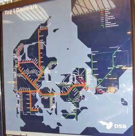 The train rail lines throughout Denmark. http://www.enjoy-europe.com/hte/chap17/p1110114.jpg