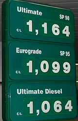 The price of gasoline and diesel at a station in Paris, France, December 2008. http://www.enjoy-europe.com/hte/chap18/Chap18images/0789GasolinePricesDec2008.jpg