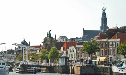My first home in Europe was an apartment on the Spaarne River in Haarlem, Nederland.
