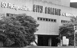 Europe is getting more and more shopping centers like the City Galerie in Aschaffenburg, Germany.