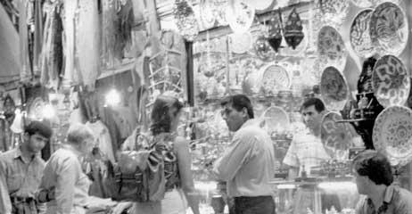 The Bazaar, Istanbul, Turkey.