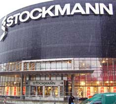 The Stockmann department store in Tallinn, Estonia.