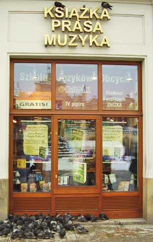 This bookstore in Prague, Czech Republic is crammed with Harry Potter editions.
