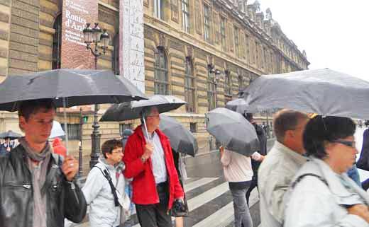 Weather in Europe: Travel under Your Umbrella