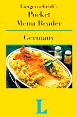 Langenscheidt's Pocket Menu Reader Germany