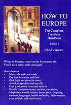 How To Europe The Complete Travelers Handbook by John Bermont