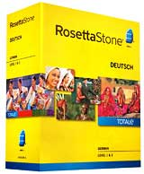 Rosetta Stone German Level 1-2 Set