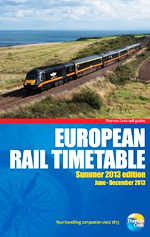 European Rail Timetable Summer 2013 Thomas Cook
