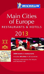 Michelin Guide 2013 Main Cities of Europe