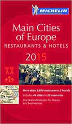 Michelin Guide 2015 Main Cities of Europe