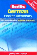 German Pocket Dictionary Berlitz