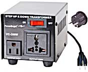 Power Bright VC200W Voltage Transformer 200 Watt Step Up/Down 110/120 Volt - 220/240 Volt
