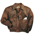 Orvis Leather Bomber Jacket