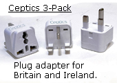 British and Irish plug