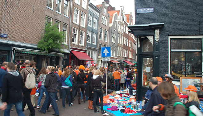 Another Street Sale In Amsterdam