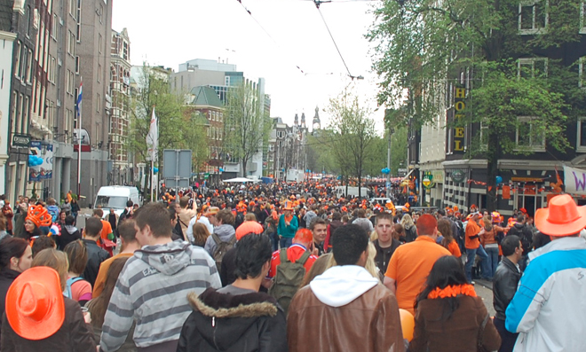 Follow The Crowd In Amsterdam