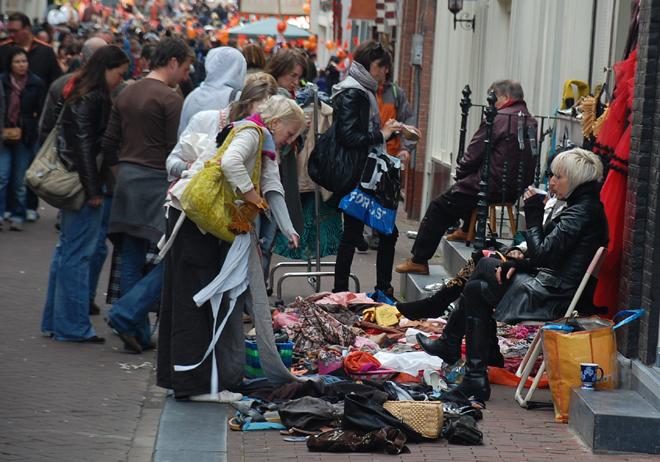 Garage Sale Amsterdam Style