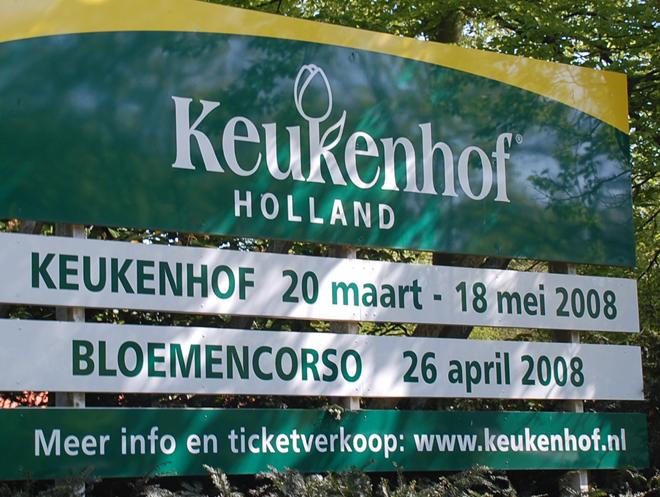 Keukenhof Sign