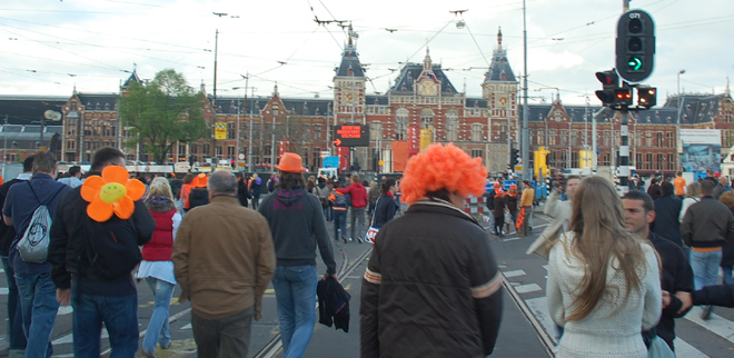 The Party Is Over, Queen's Day, Amsterdam