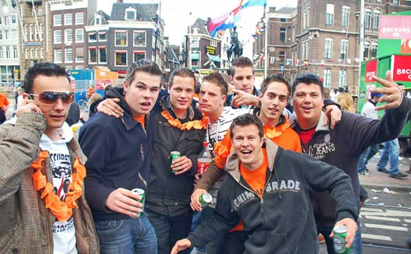 Six Jongens, Amsterdam